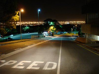 UCT At Night by Mandy J Watson, on Flickr