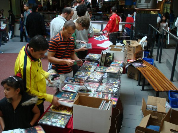 Free Comic Book Day 2001, Cape Town, by Mandy J Watson